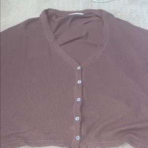 Urban Outfitters brown sweater